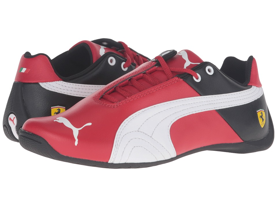 Puma Kids - Future Cat SF Jr (Big Kid) (Rosso Corsa/Puma White) Boys Shoes