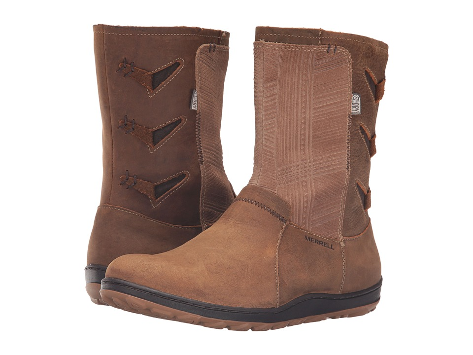 Merrell Ashland Vee Mid Waterproof (Merrell Tan) Women