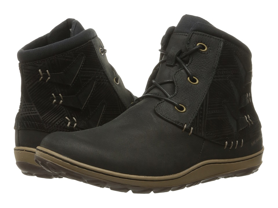 Merrell Ashland Vee Ankle (Black) Women