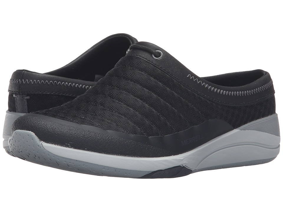 Merrell - Applaud Breeze (Black) Women's Slip on Shoes