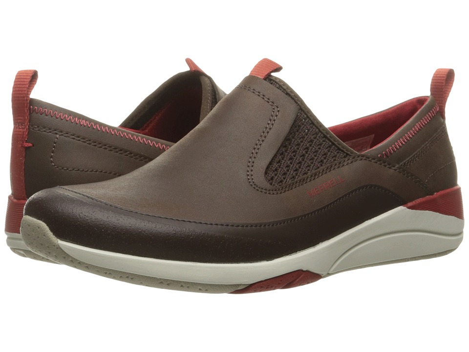 Merrell - Applaud Moc (Bracken) Women's Slip on Shoes