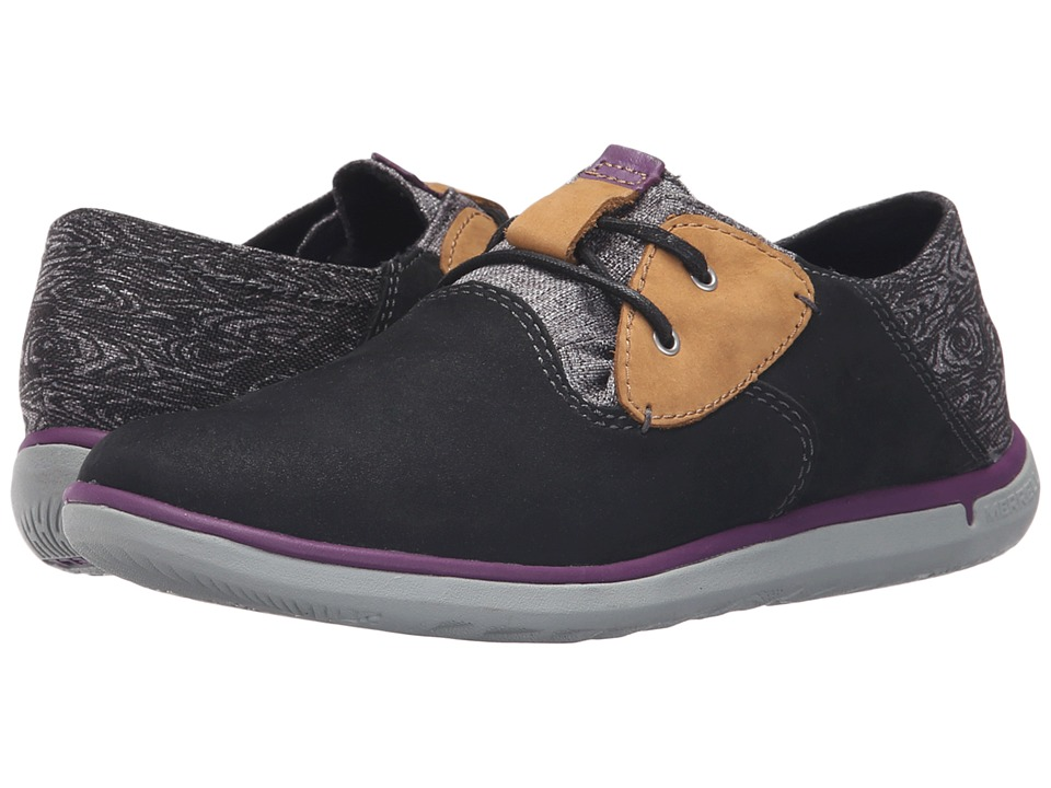 Merrell - Duskair Smooth (Black) Women's Slip on Shoes