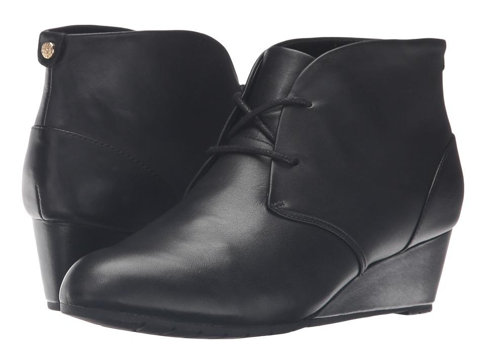 Clarks - Vendra Peak (Black Leather) Women's Shoes