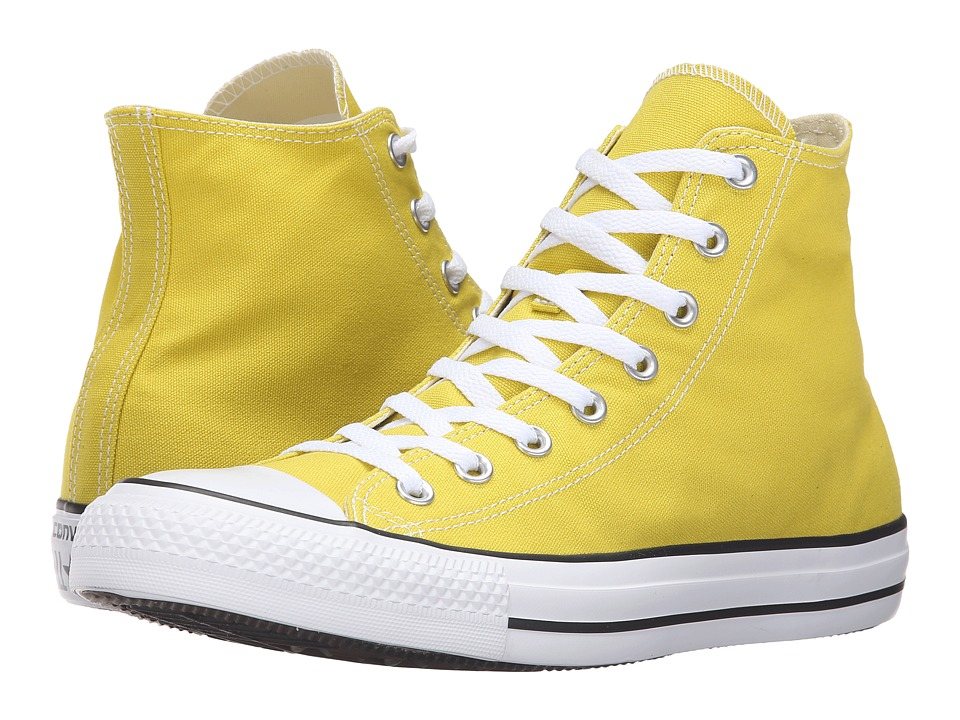 Converse - Chuck Taylor All Star Seasonal Color Hi (Bitter Lemon) Lace up casual Shoes