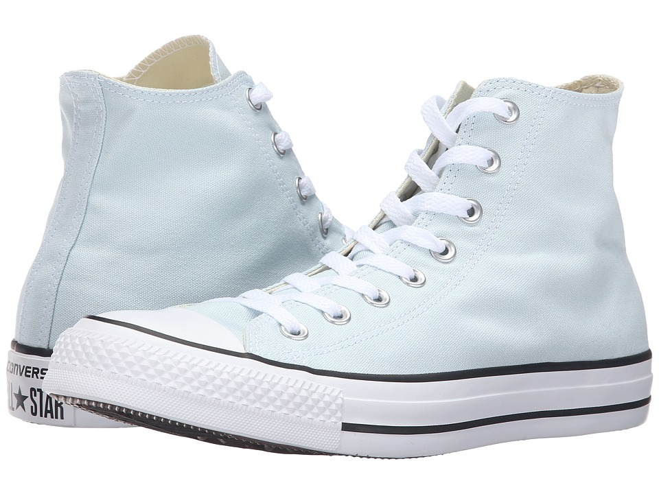 Converse - Chuck Taylor All Star Seasonal Color Hi (Polar Blue) Lace up casual Shoes