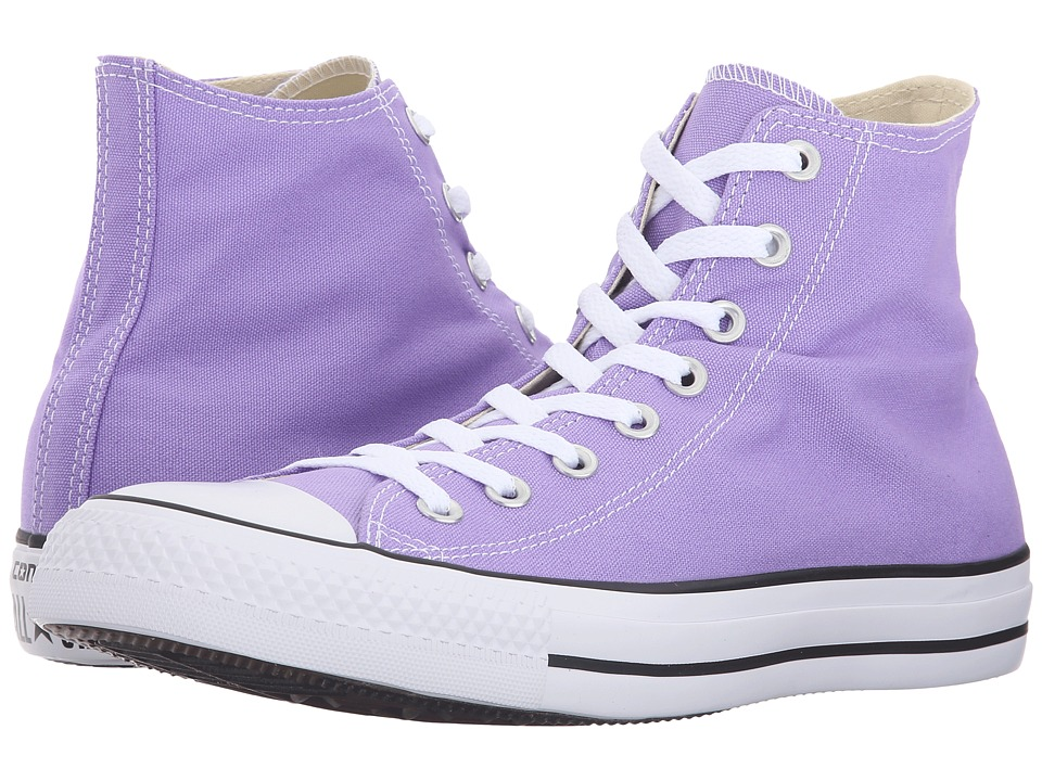 Converse - Chuck Taylor All Star Seasonal Color Hi (Frozen Lilac) Lace up casual Shoes