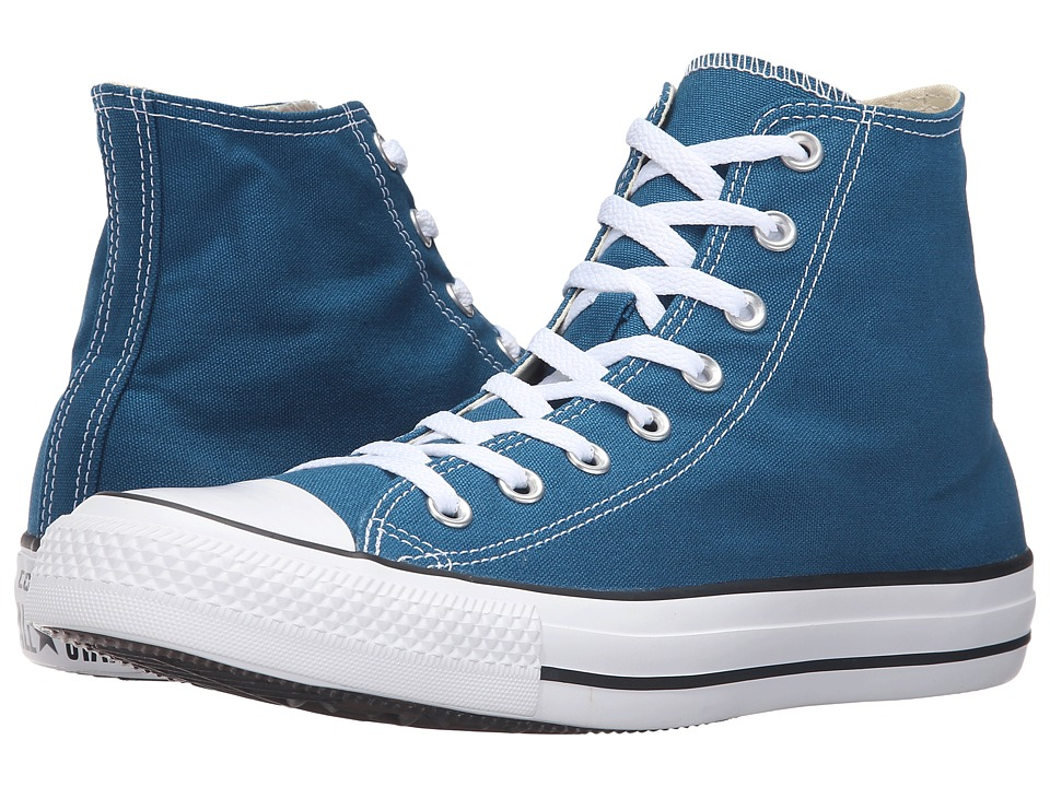 Converse - Chuck Taylor All Star Seasonal Color Hi (Blue Lagoon) Lace up casual Shoes