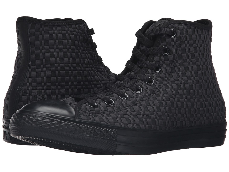 Converse - Chuck Taylor All Star Variable Box Woven Hi (Black/Almost Black/Black) Lace up casual Shoes