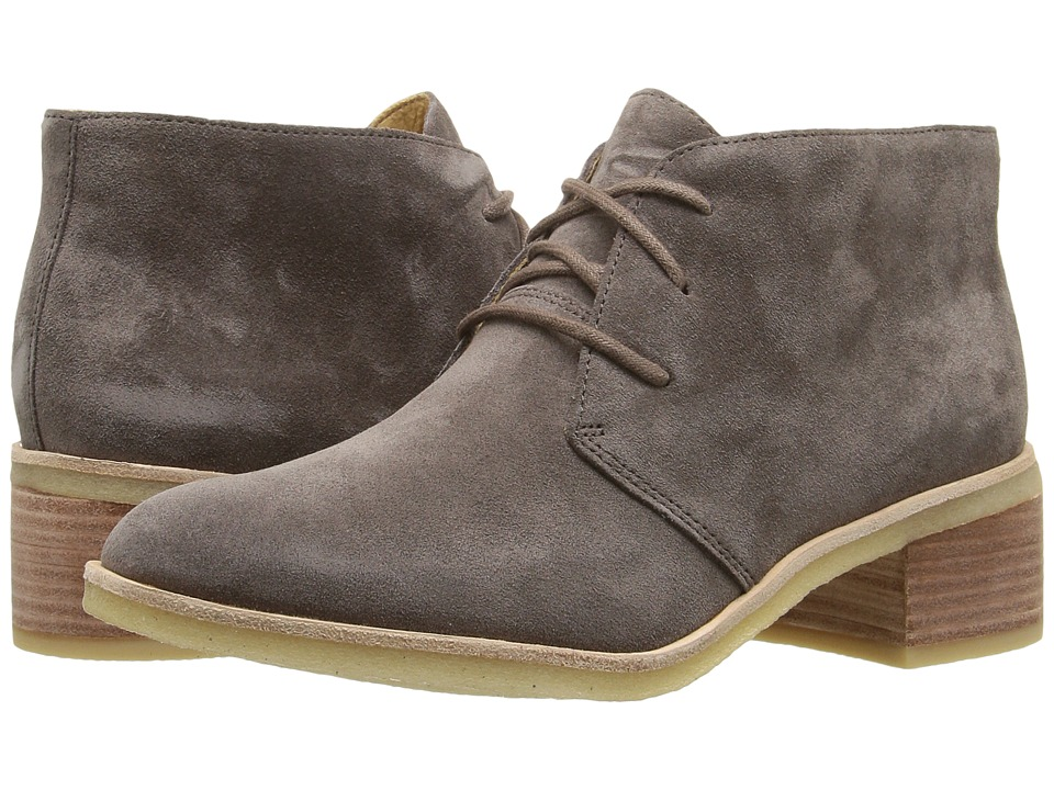 Clarks - Phenia Carnaby (Grey Suede) Women's Lace-up Boots