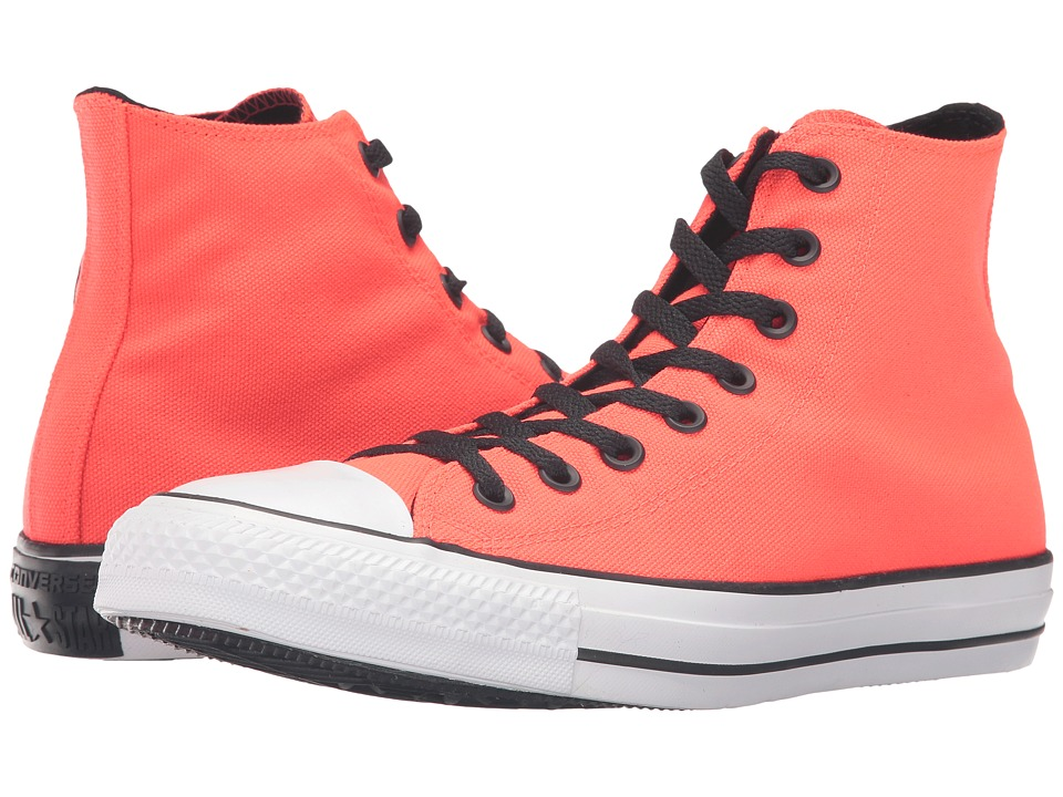 Converse - Chuck Taylor All Star Variable Box Woven Hi (Bright Crimson/White/Black) Lace up casual Shoes