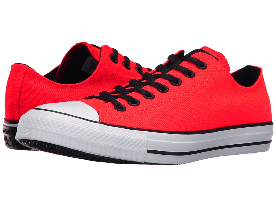 Converse - Chuck Taylor All Star Variable Box Woven Ox (Bright Crimson/White/Black) Lace up casual Shoes