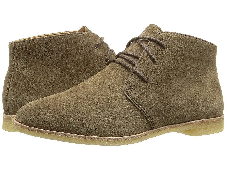 Clarks - Phenia Desert (Khaki Suede) Women's Lace-up Boots