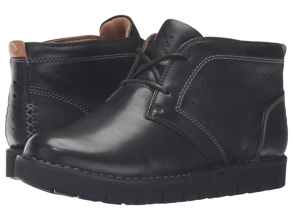 Clarks - Un Astin (Black Leather) Women's Shoes