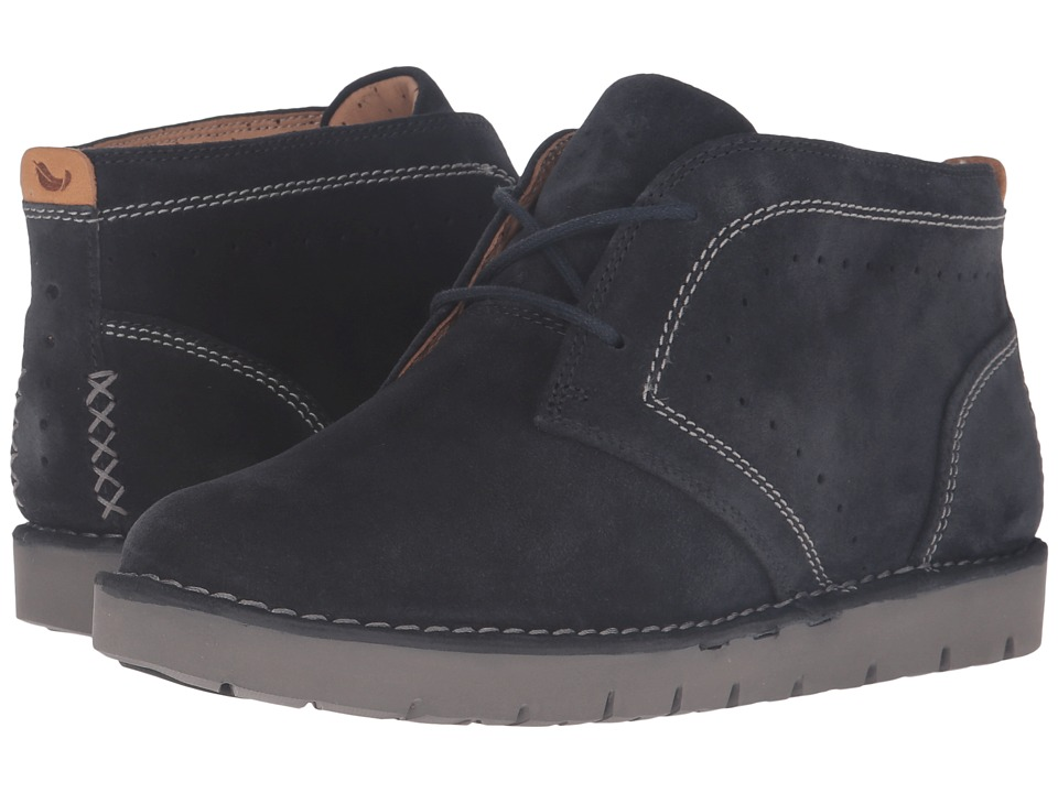 Clarks - Un Astin (Navy Suede) Women's Shoes