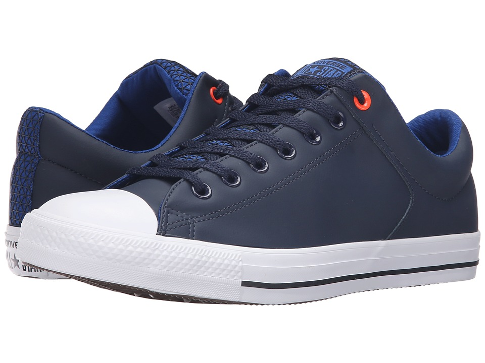 Converse - Chuck Taylor All Star High Street Ox (Blue/Obsidian/White) Men's Lace up casual Shoes