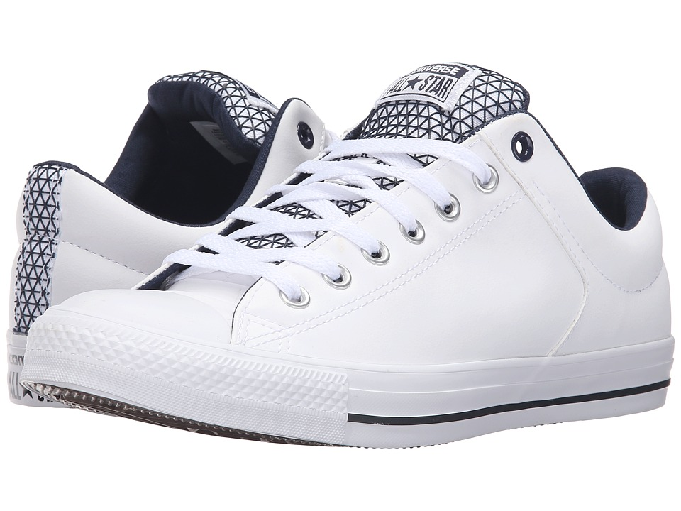 Converse - Chuck Taylor All Star High Street Ox (White/Obsidian/Black) Men's Lace up casual Shoes