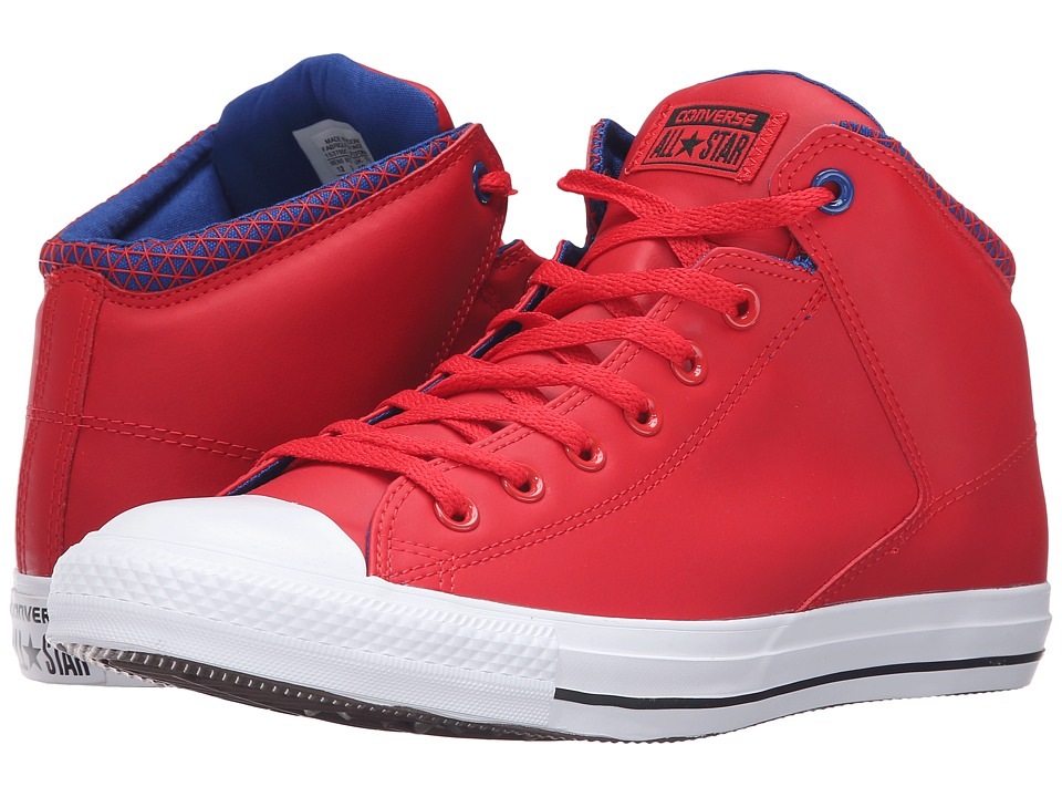Converse - Chuck Taylor All Star High Street Mid (Casino/Blue/White) Men's Lace up casual Shoes