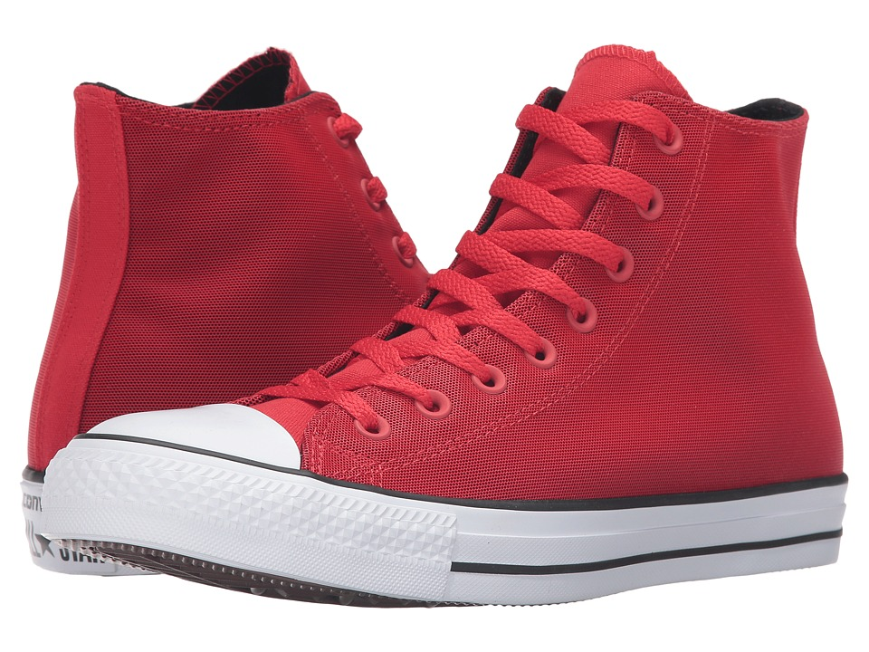 Converse - Chuck Taylor All Star Kurim Hi (Casino/Black/Frayed Burlap) Lace up casual Shoes