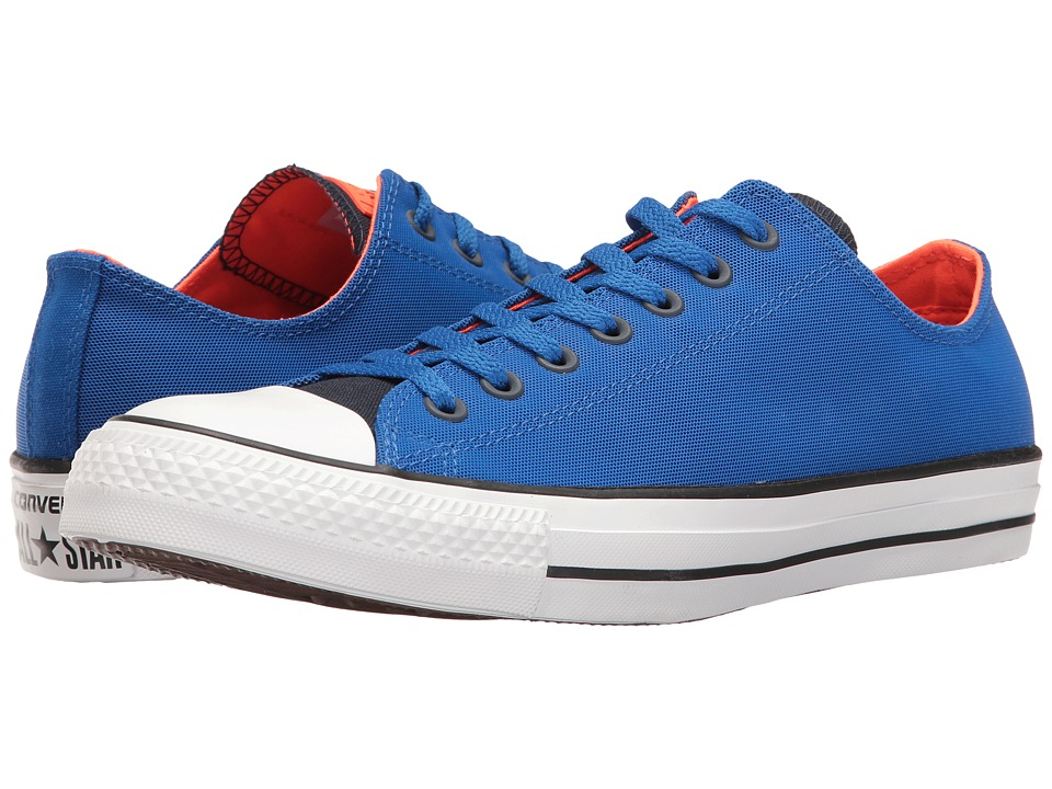 Converse - Chuck Taylor All Star Kurim Ox (Obsidian/Blue/Lava) Lace up casual Shoes