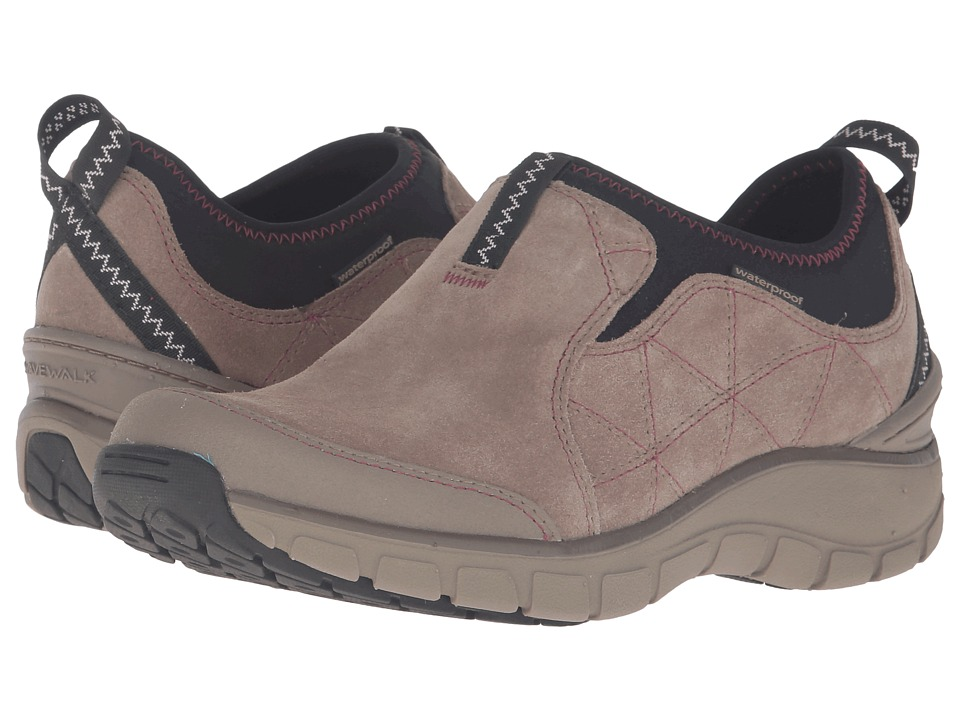 Clarks - Wave Slide (Taupe Suede) Women's Slip on Shoes
