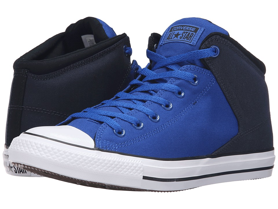 Converse Chuck Taylor All Star High Street Neoprene Mid (Blue/Obsidian/White) Men