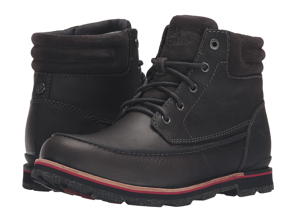 The North Face - Bridgeton Chukka (Stonehenge Grey/Rudy Red) Men's Lace-up Boots