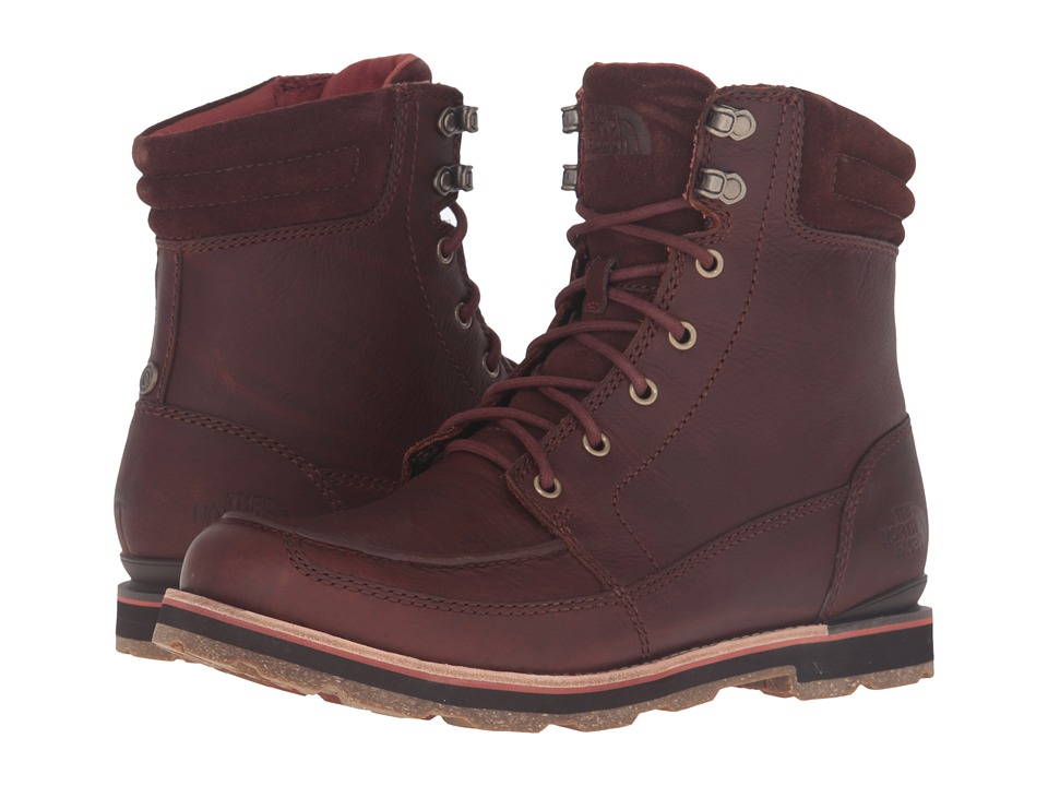 The North Face - Bridgeton Boot (Tempest Brown/Arabian Spice) Men's Lace-up Boots