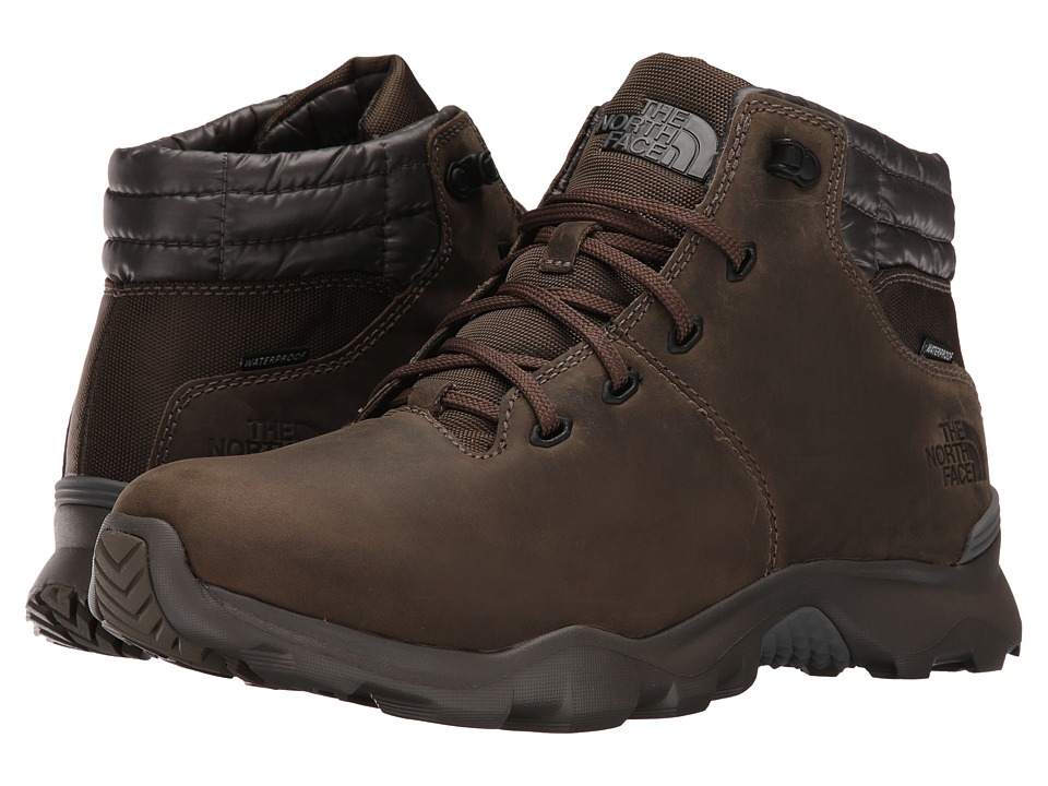 The North Face - ThermoBall Versa Chukka (Weimaraner Brown/Smoked Pearl Grey) Men's Lace-up Boots