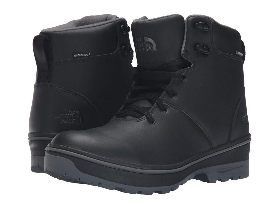 The North Face - Ballard Commuter (TNF Black/Smoked Pearl Grey) Men's Lace-up Boots