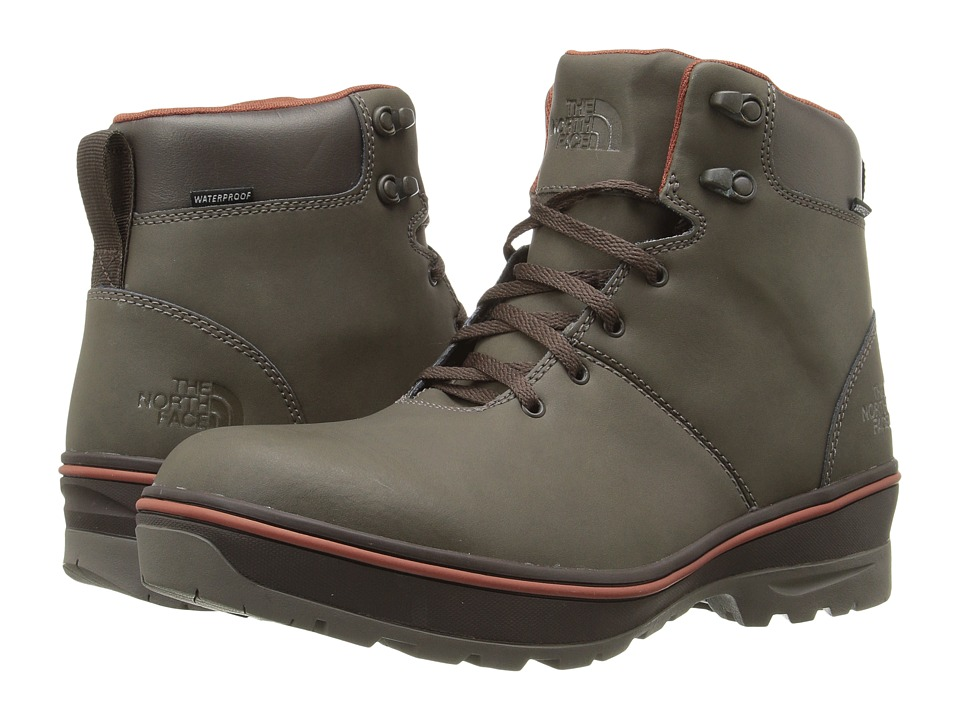The North Face - Ballard Commuter (Weimaraner Brown/Arabian Spice) Men's Lace-up Boots