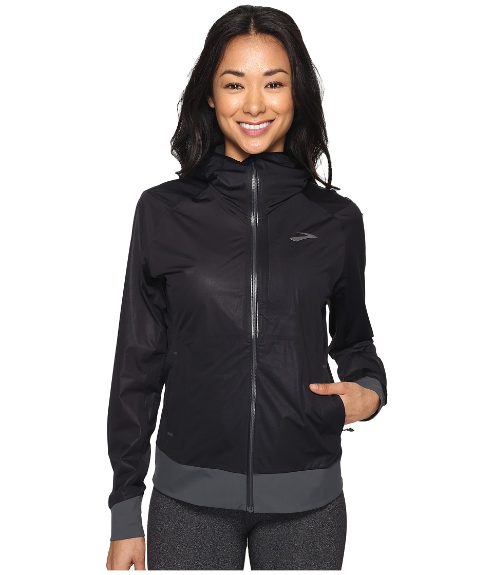 Brooks - Cascadia Jacket (Black) Women's Jacket