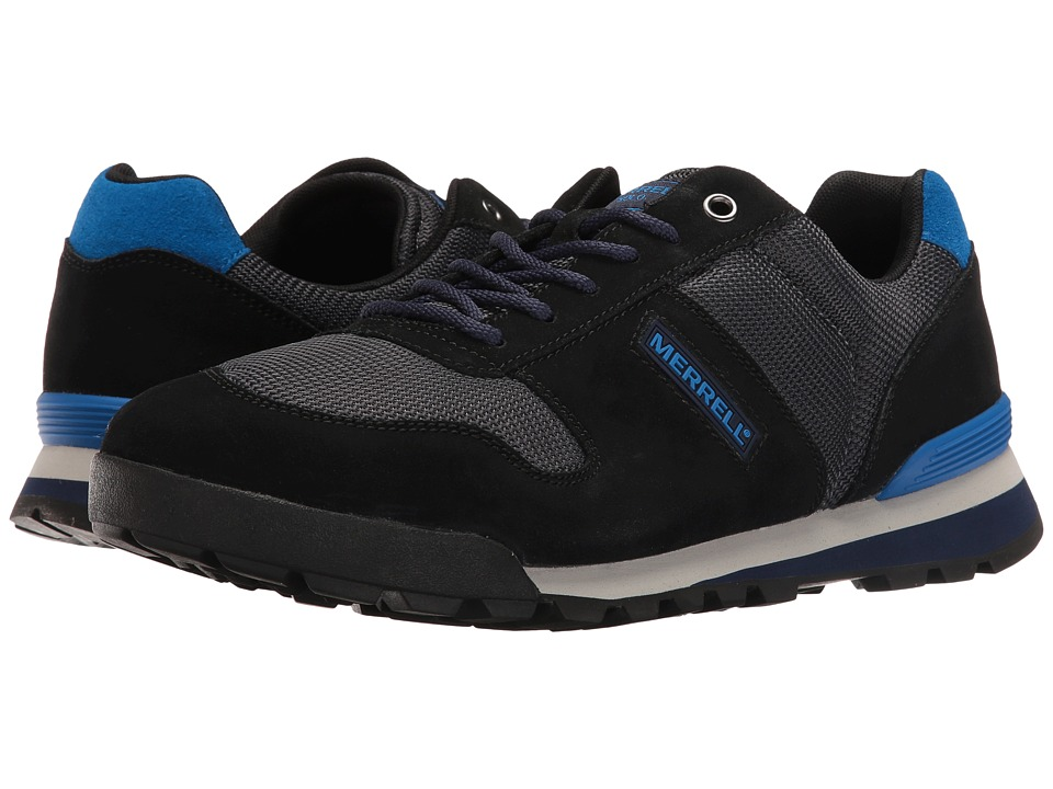 Merrell - Solo (Black) Men's Lace up casual Shoes