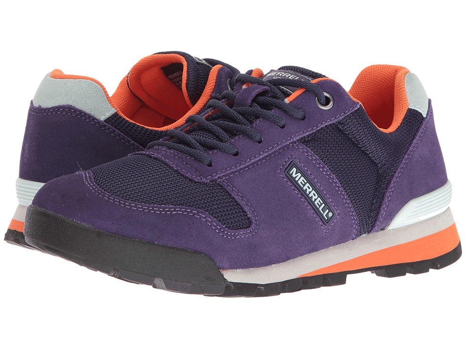 Merrell - Solo (Plum Plumeria) Women's Lace up casual Shoes