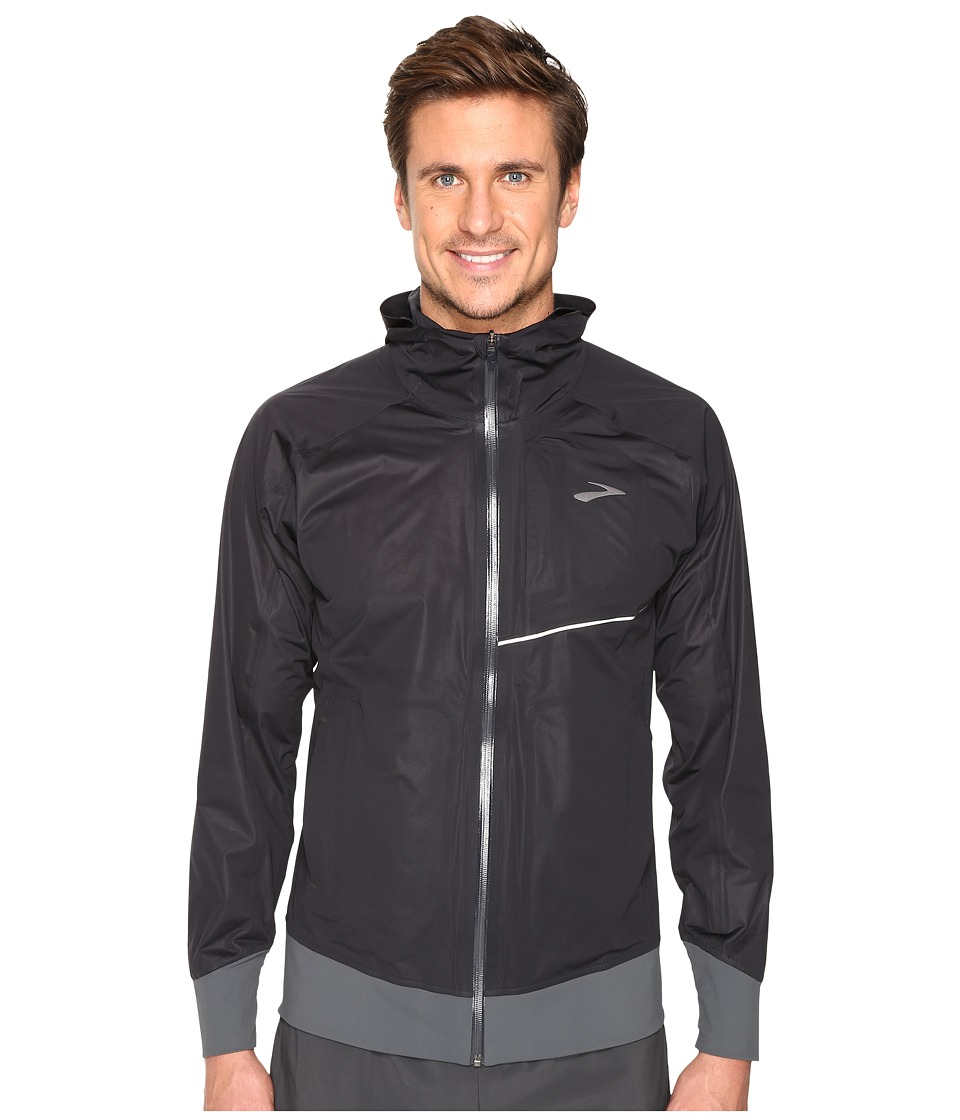 Brooks - Cascadia Jacket (Black) Men's Coat