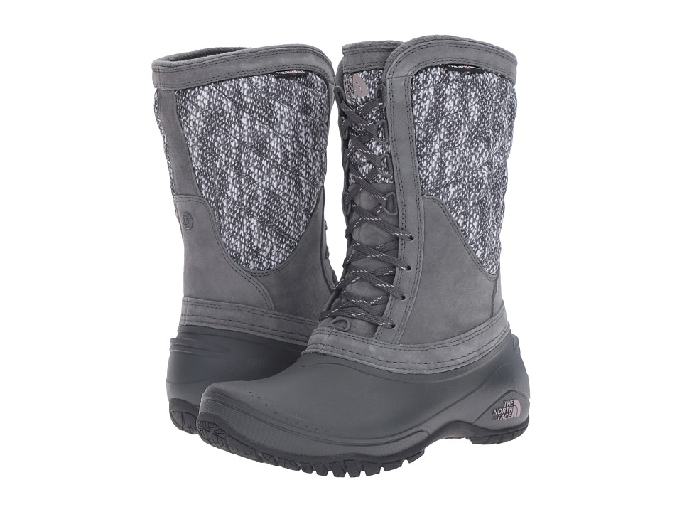 The North Face - ThermoBall Utility Mid (Iron Gate Grey/Quail Grey) Women's Pull-on Boots