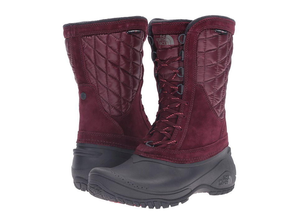 The North Face ThermoBall Utility Mid (Deep Garnet Red/Calypso Coral) Women