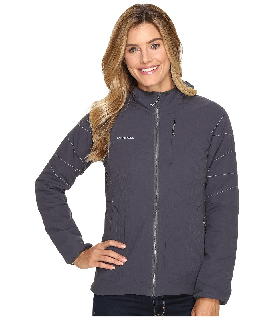 Merrell - Unbound Insulated Jacket (Asphalt) Women's Coat