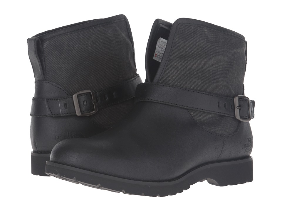The North Face - Ballard Pull-On II Canvas (TNF Black/Phantom Grey) Women's Pull-on Boots