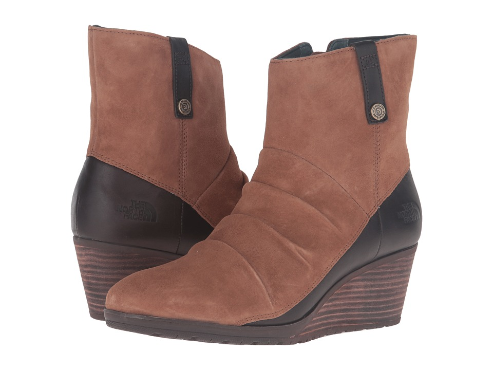 The North Face Bridgeton Wedge Zip (Dachshund Brown/Darkest Spruce) Women