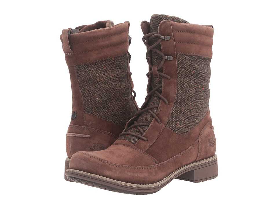 Carries New Womens Boots The North Face Bridgeton Lace Mm Coffee Bean Brown Cub Brown