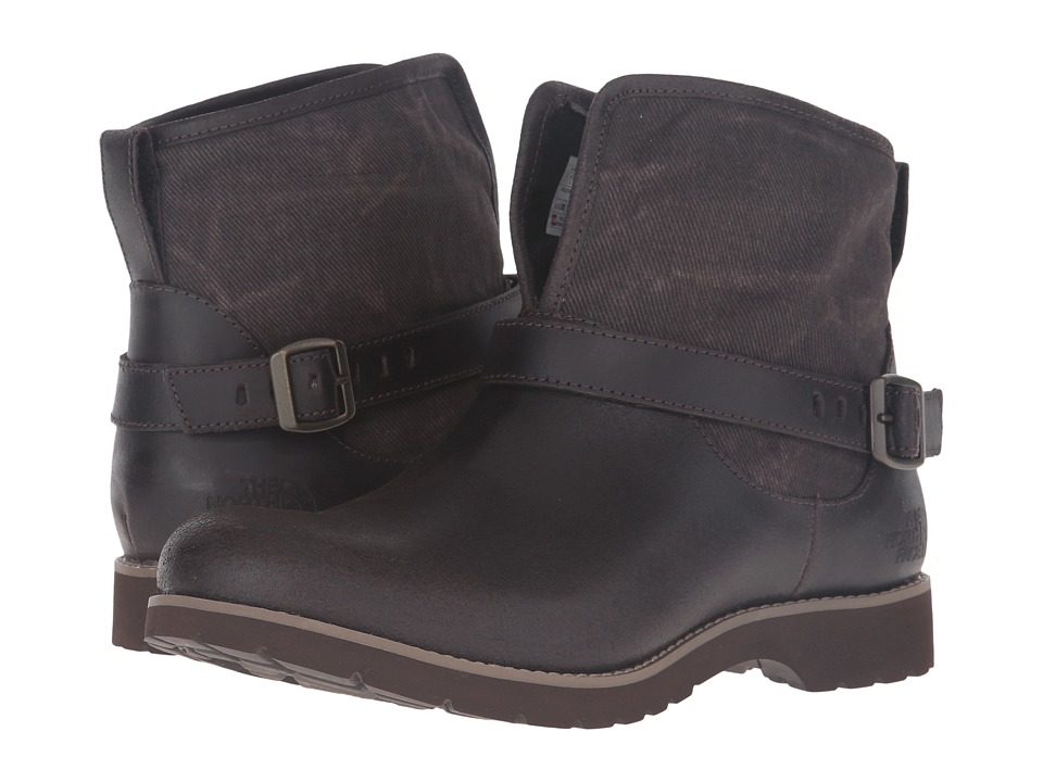 The North Face - Ballard Pull-On II Canvas (Coffee Bean Brown/Weimaraner Brown) Women's Pull-on Boots