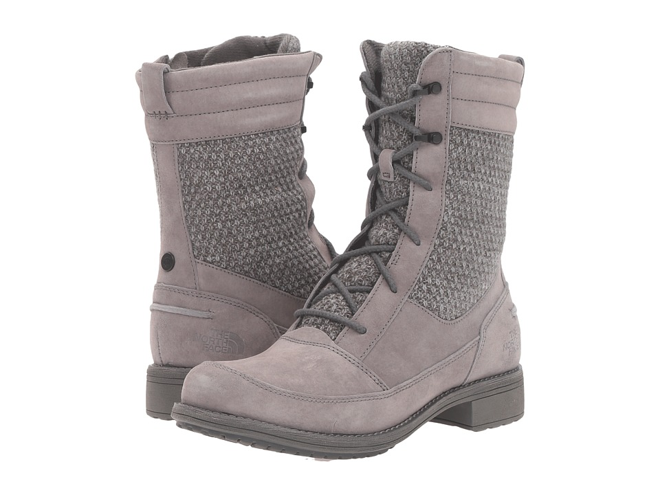 The North Face - Bridgeton Lace MM (Smoked Pearl Grey/Dark Shadow Grey) Women's Lace-up Boots