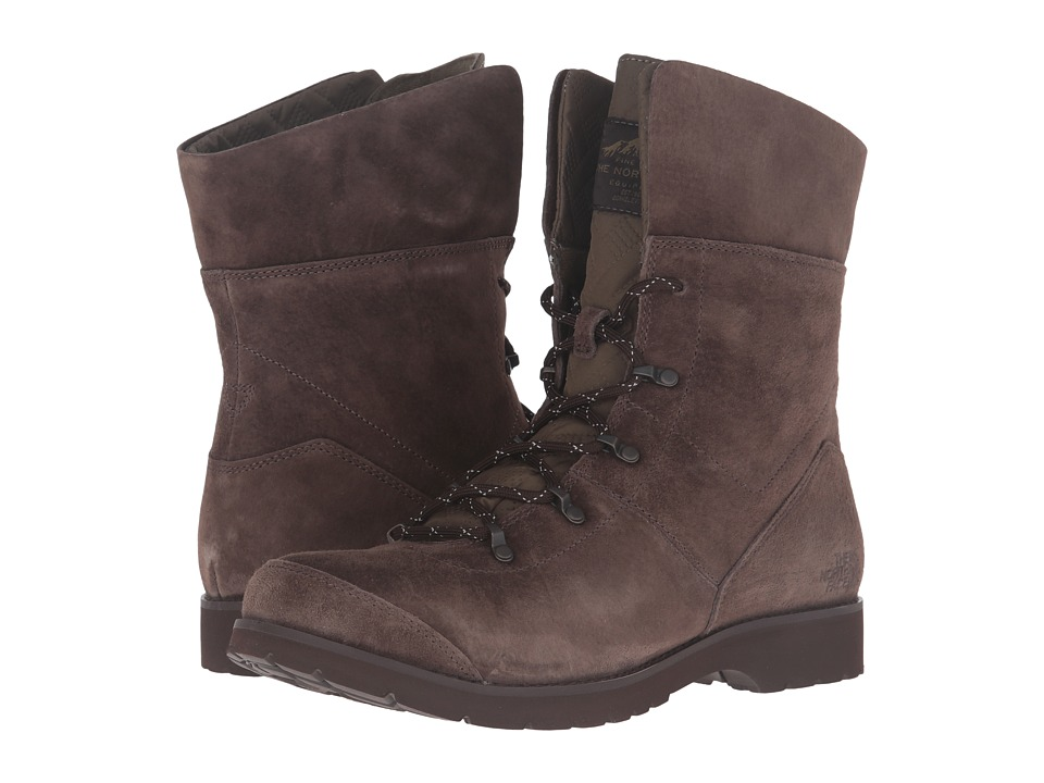 The North Face - Ballard G.I. (Espresso Brown/Caper Berry Green) Women's Lace-up Boots