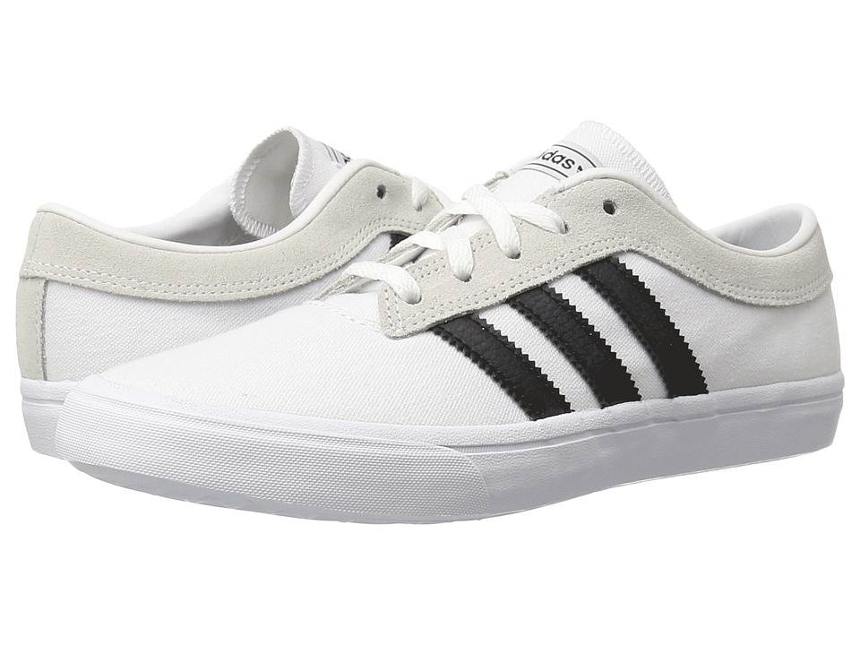 adidas Skateboarding - Sellwood (White/Black/White) Women's Skate Shoes