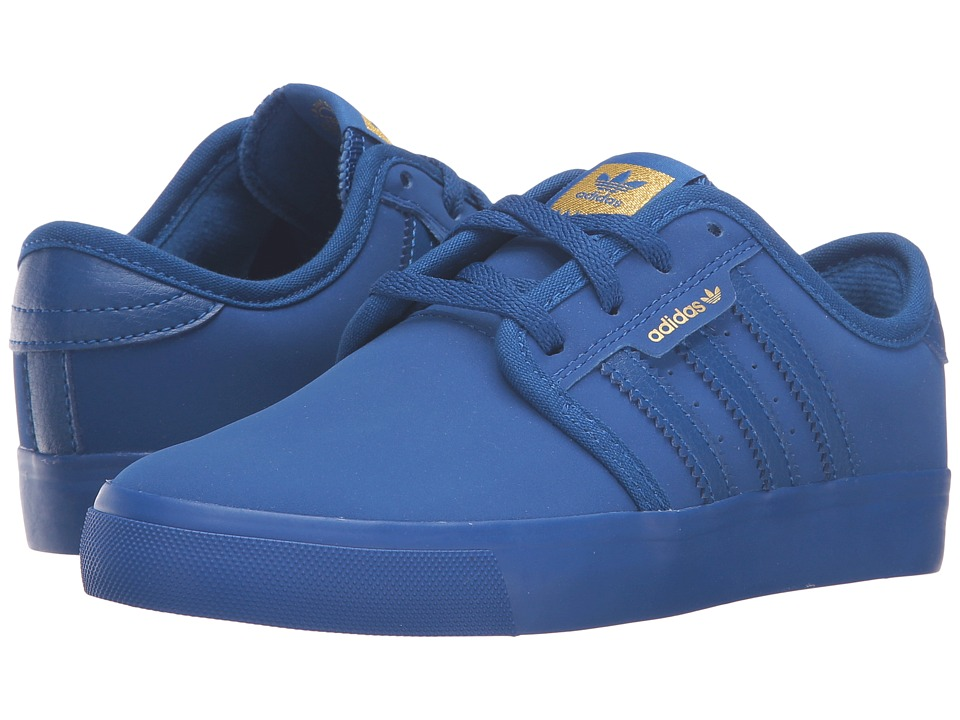 adidas Skateboarding - Seeley J (Little Kid/Big Kid) (Collegiate Royal/Collegiate Royal/Collegiate Royal) Skate Shoes