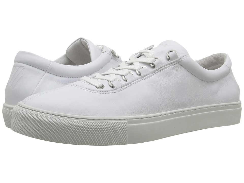 K-Swiss - Court Classico (White/Off-White Leather) Men's Tennis Shoes
