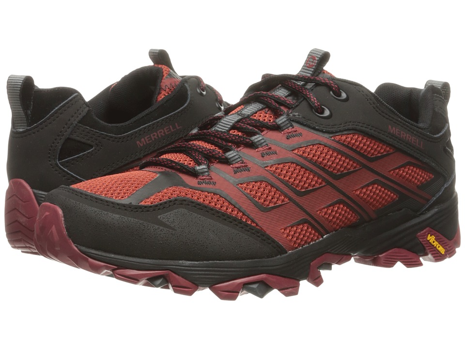 Merrell - Moab FST (Burgundy/Black) Men's Lace up casual Shoes