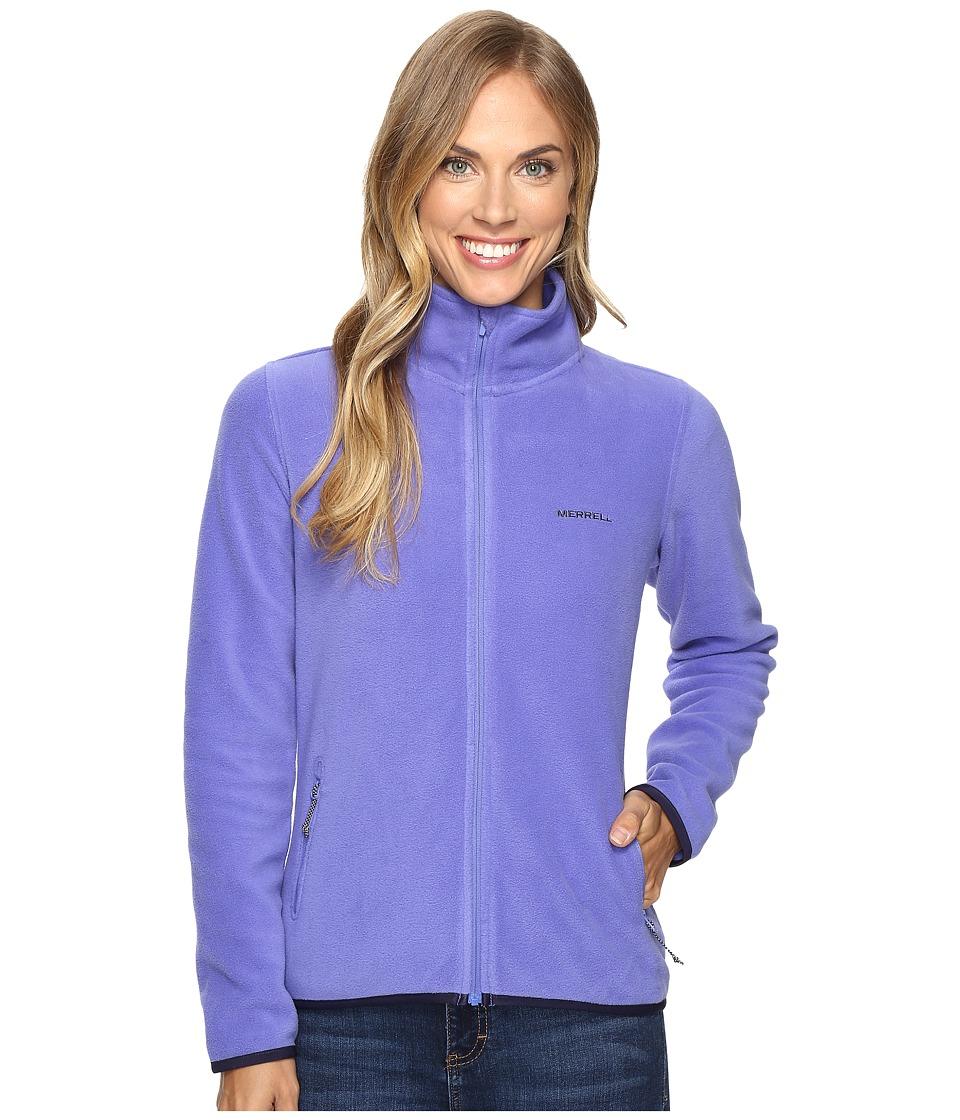 Merrell - Chillgard Full Zip Fleece (Violet Storm) Women's Fleece