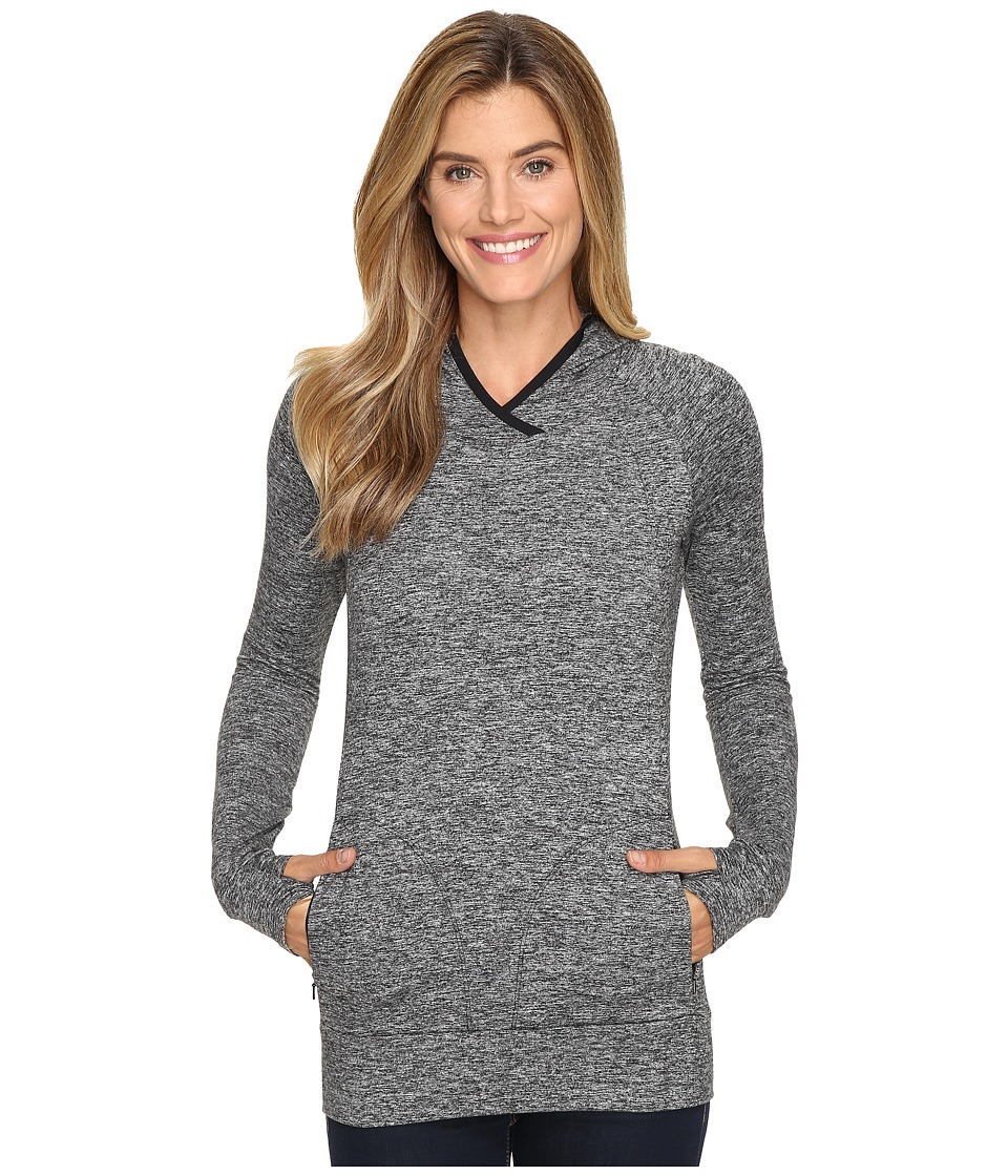 Merrell - Everlong Tech Fleece Hoodie (Black Heather) Women's Sweatshirt