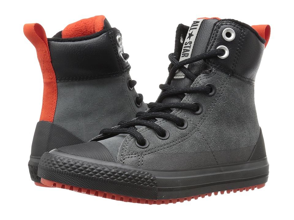 Converse Kids - Chuck Taylor All Star Asphalt Boot (Little Kid/Big Kid) (Thunder/Signal Red/Black) Boys Shoes